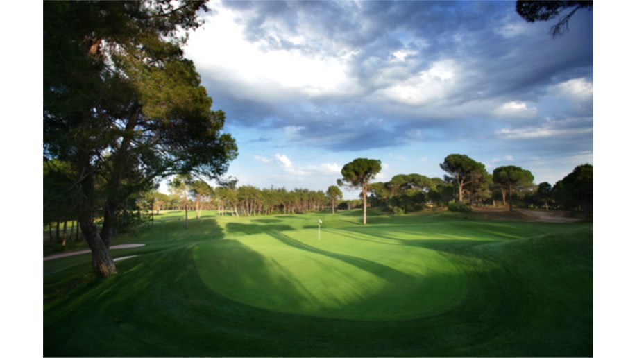 Montgomerie 3rd Hole